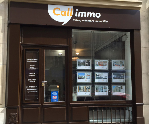 Agence immobili re call immo wagram 75017 paris for Agence immobiliere 57